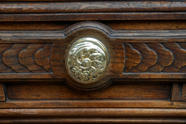 Brass and Wood Detail, Buenos Aires