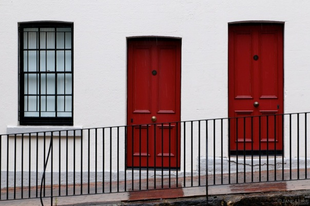 Two Red Doors, The Rocks