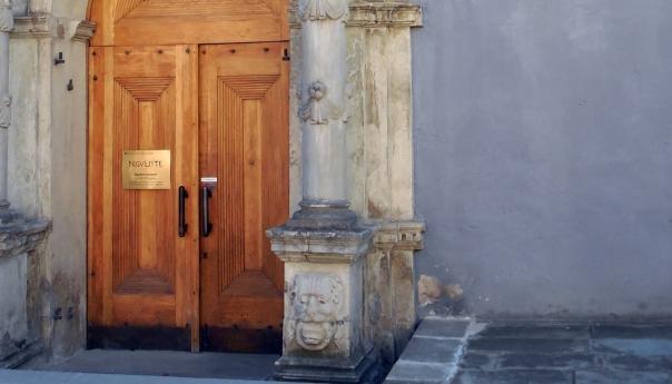 church door in Tallinn