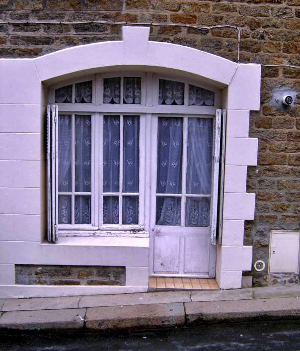 door in Dinard, Brittany