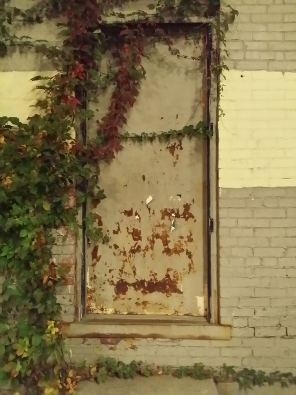 Door in East Liberty near pittsburgh, PA