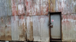 Strip District Door
