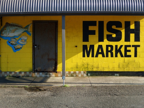 Door, Fish Market, Kiama, NSW