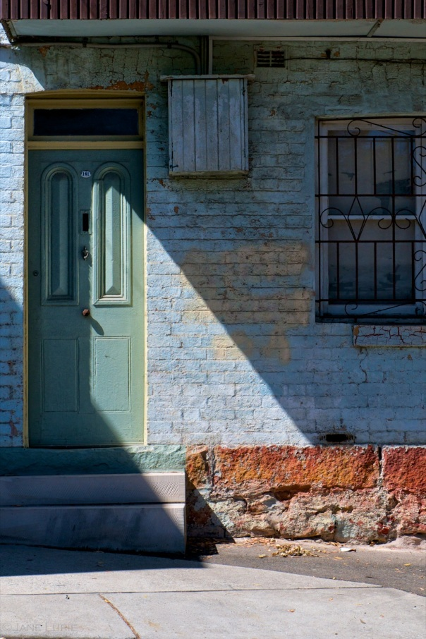 Green Door and Shadow, Redfern , Sydney