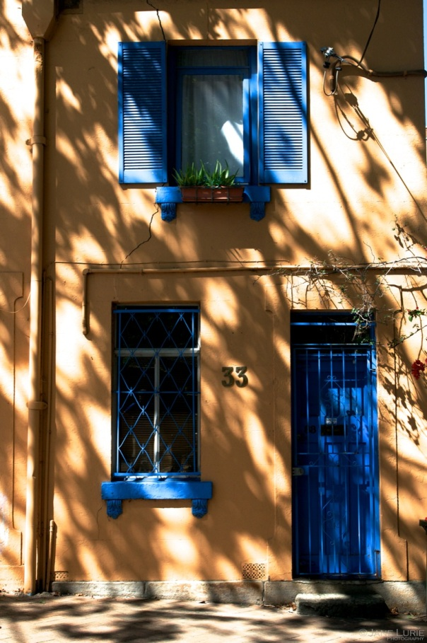 Blue and Orange, Surry Hills, Sydney
