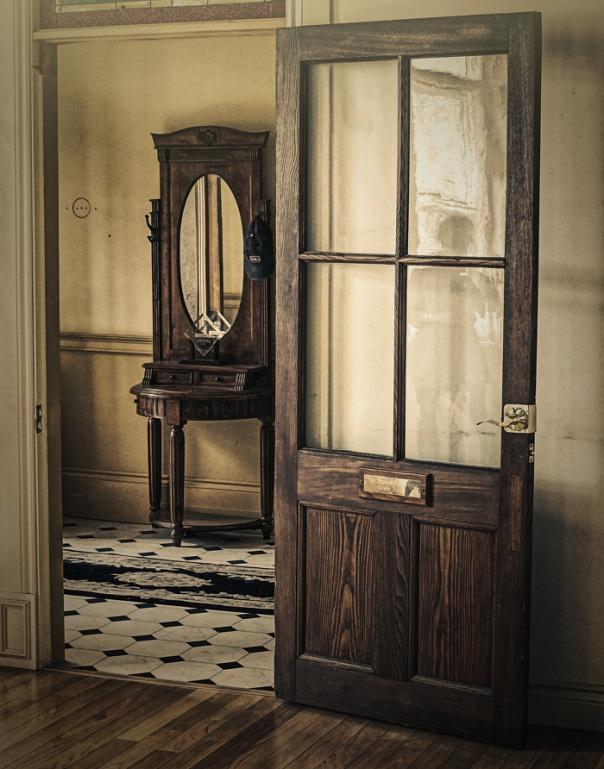 interior door still life
