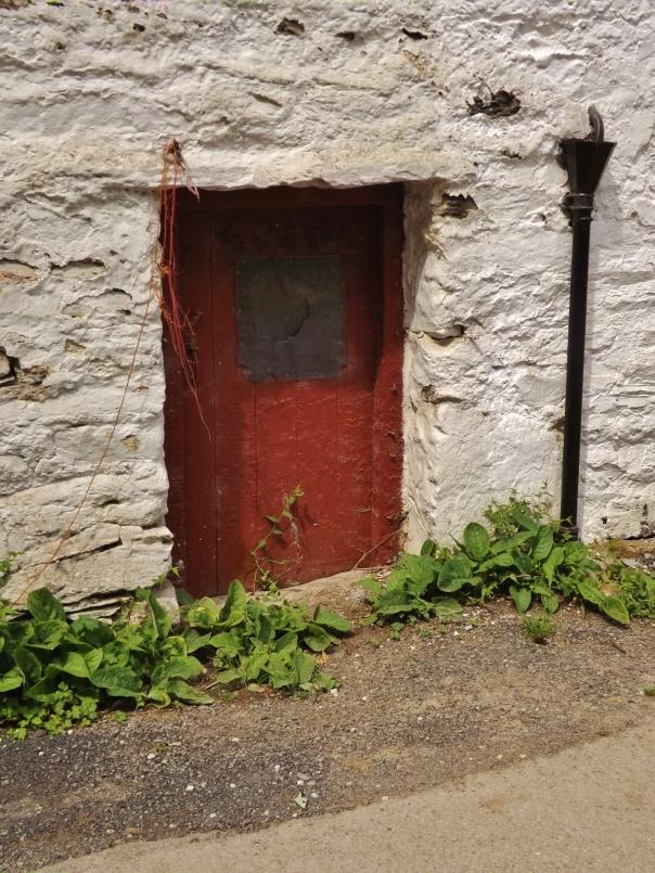 Tiny door.