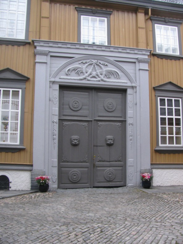 Royal Palace in Trondheim, Norway