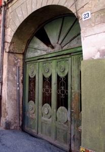 poarta verde