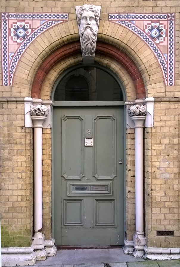 A door picture in Southampton UK