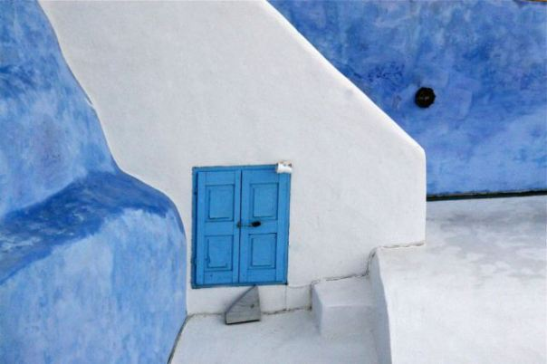 Colours of Santorini