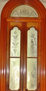 Door with Glass Panels